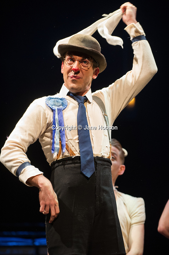London, UK. 14.02.2014. Regan de Wynter Ltd, in association with Hilary A Williams present Gilbert and Sullivan's HMS PINAFORE, at the Hackney Empire from Friday 14th to Sunday 23rd February, prior to an 8 week UK tour. Picture shows: David McKechnie (The Rt. Hon. Sir Joseph Porter, K.C.B.). Photograph © Jane Hobson.