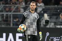 Torwart Manuel Neuer (Deutschland Germany) - 09.10.2019: Deutschland vs. Argentinien, Signal Iduna Park, Freunschaftsspiel<br /> DISCLAIMER: DFB regulations prohibit any use of photographs as image sequences and/or quasi-video.