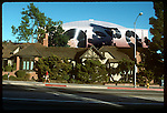 A & M Records, previously the charlie Chaplin Studios, on La Brea Ave. in Hollywood circa 1980's