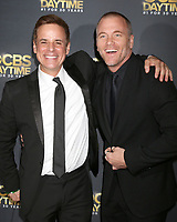 LOS ANGELES - APR 30:  Christian LeBlanc, Sean Carrigan at the CBS Daytime Emmy After Party at the Pasadena Conferene Center on April 30, 2017 in Pasadena, CA