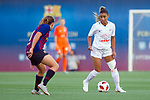 FC Barcelona vs Montpellier HSC: 1-2.<br /> Andrea Pereira vs Sakina Karchaoui.