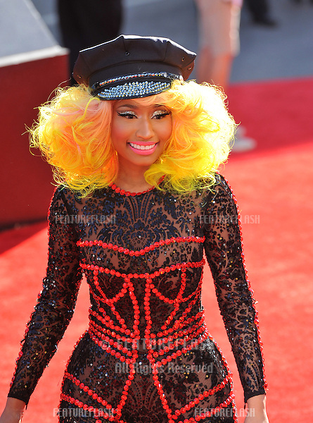 Nicky Minaj at the 2012 MTV Video Music Awards at Staples Center, Los Angeles..September 6, 2012  Los Angeles, CA.Picture: Paul Smith / Featureflash