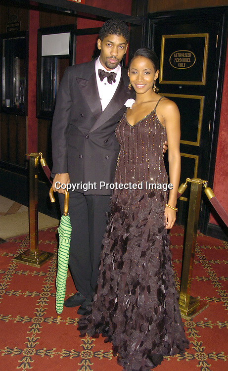 """Fonzworth Bentley and Faun Chambers ..at the World Premiere of """"Jay-Z Fade to Black"""" on ..November 4, 2004 at the Ziegfeld Theatre. ..Photo by Robin Platzer, Twin Images"""
