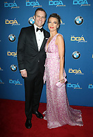BEVERLY HILLS, CA - FEBRUARY 3: Travis Schuldte and Natalie Zea at the 70th Annual Directors Guild of America Awards (DGA, DGAs), at The Beverly Hilton Hotel in Beverly Hills, California on February 3, 2018.  <br /> CAP/MPI/FS<br /> &copy;FS/Capital Pictures