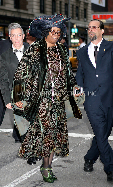 WWW.ACEPIXS.COM . . . . .  ....June 12 2011, New York City....Whoopi Goldberg arriving at the 65th Annual Tony Awards at the Beacon Theatre on June 12, 2011 in New York City.....Please byline: NANCY RIVERA- ACEPIXS.COM.... *** ***..Ace Pictures, Inc:  ..Tel: 646 769 0430..e-mail: info@acepixs.com..web: http://www.acepixs.com