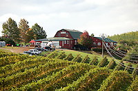 Carters mountain orchard and vineyard in Charlottesville, Va. Credit Image: © Andrew Shurtleff