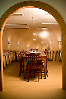 Inside the Winery at West Bend Vineyard and Winery, in the Yadkin Valley, NC.