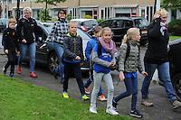 WANDELEN: JOURE: 23-05-2016, Avondvierdaagse, ©foto Martin de Jong