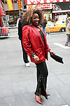 Soul Train Line Flash Mob in Times Square