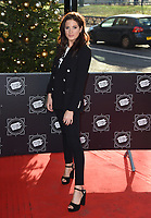 Binky Felstead<br /> arriving for the TRIC Christmas Party, Grosvenor House Hotel, London.<br /> <br /> <br /> &copy;Ash Knotek  D3362  12/12/2017