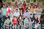 HAPPY 40TH: Helen Locke, Shanakill (seated centre), having a ball with friends and family at her 40th birthday party held in Na Gael GAA Club on Friday night.   Copyright Kerry's Eye 2008