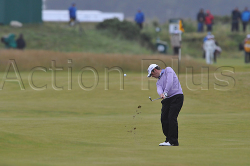 16/07/2010   Louis OOSTHUIZEN from South Africa in  action on  the Old Course , St  Andrews, Fife, Scotland in the Second round of the  British Open Championship