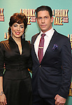 Lucia Giannetta and Richard H. Blake attends the Broadway Opening Night After Party for 'A Bronx Tale' at The Marriot Marquis Hotel on December 1, 2016 in New York City.