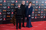 Concha Velasco, Jose Sacristan and Mercedes Sampietro attends red carpet of Goya Cinema Awards 2018 at Madrid Marriott Auditorium in Madrid , Spain. February 03, 2018. (ALTERPHOTOS/Borja B.Hojas)