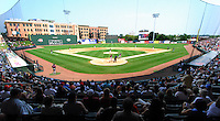 3 September 2007: West End Field, home of the Greenville Drive, Class A South Atlantic League affiliate of the Boston Red Sox, in a game against the Asheville Tourists at West End Field in Greenville, S.C. Photo by:  Tom Priddy/Four Seam Images