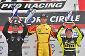 F4 US Championship<br /> Rounds 10-11-12<br /> Mid-Ohio Sports Car Course, Lexington, OH USA<br /> Friday 11 August 2017<br /> Round 11: 2, Skylar Robinson, 8, Kyle Kirkwood, 86, Brendon Leitch<br /> World Copyright: Dan R. Boyd<br /> LAT Images