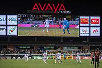 San Jose, CA - Monday January 04, 2016: Chris Wondolowski during a Major League Soccer (MLS) match between the San Jose Earthquakes and Atlanta United FC at Avaya Stadium.