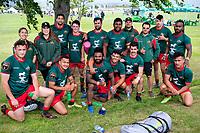 Wairarapa Bush men. 2018 Central Regional Sevens at Playford Park in Levin, New Zealand on Saturday, 1 December 2018. Photo: Dave Lintott / lintottphoto.co.nz