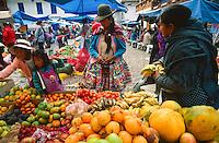 Sunday market, Pisac, Peru, 2016.