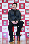 Hiroshi Mikitani, <br /> MARCH 7, 2019 - Football : Vissel Kobe new signing player Sergi Samper during a press confrence in Tokyo, Japan. <br /> (Photo by MATSUO.K/AFLO SPORT)