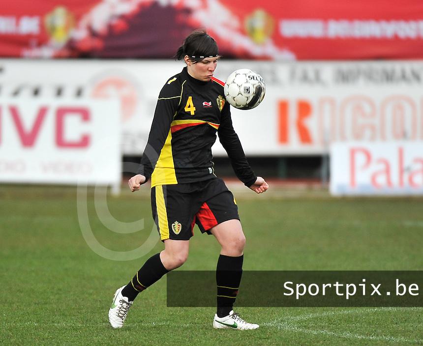 Russia U19 - Belgium U19 : Karen Verrydt.foto DAVID CATRY / Nikonpro.be