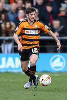 Luke Gambin of Barnet during the Sky Bet League 2 match between Barnet and Luton Town at The Hive, London, England on 28 March 2016. Photo by David Horn.