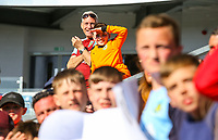 Burnley fans enjoy welcome the players and staff back to the pitch after the match<br /> <br /> Photographer Alex Dodd/CameraSport<br /> <br /> The Premier League - Burnley v Arsenal - Sunday 12th May 2019 - Turf Moor - Burnley<br /> <br /> World Copyright &copy; 2019 CameraSport. All rights reserved. 43 Linden Ave. Countesthorpe. Leicester. England. LE8 5PG - Tel: +44 (0) 116 277 4147 - admin@camerasport.com - www.camerasport.com