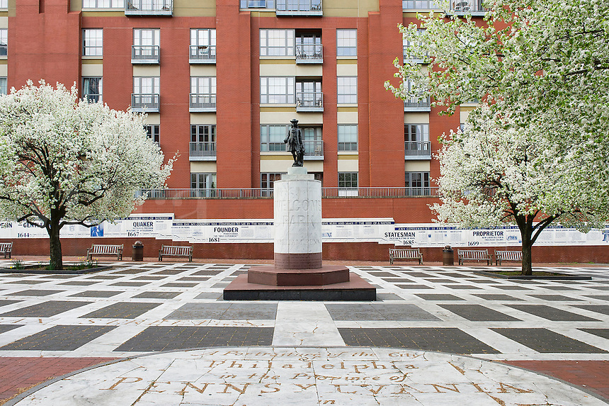 Welcome Park dedicated to William Penn, Philadelphia, Pennsylvania, USA