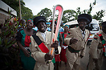 The Queen's Baton today arrived in Lilongwe, Malawi, where it was presented to the President of Malawi, who handed the Baton to local athletes to complete a Relay from the airport to a civic ceremony in Lilongwe, on April 20, 2017.  This Queen's Baton Relay will visit all 70 nations and territories of the Commonwealth, over 388 days and cover 230,000km. It will be the longest Relay in Commonwealth Games history, finishing at the Opening Ceremony on the Gold Coast on 4th April 2018.