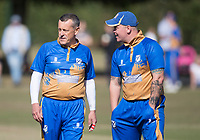 R Mack and N Ison of Upminster during Upminster CC vs Essex CCC, Benefit Match Cricket at Upminster Park on 8th September 2019