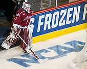 Sihak Lee (Harvard - 1) - The University of Minnesota Duluth Bulldogs defeated the Harvard University Crimson 2-1 in their Frozen Four semi-final on April 6, 2017, at the United Center in Chicago, Illinois.