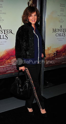 New York, NY: December 7: Margaret Colin attends 'A Monster Calls' New York Premiere at AMC Loews Lincoln Square 13 theater on December 7, 2016 in New York City.@John Palmer / Media Punch