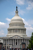 Very high resolution stock photo of the East Front of the United States Capitol in Washington, DC on Friday, May 11, 2018.<br /> Credit: Ron Sachs / CNP