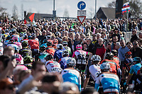 Massive crowds at the Race start in Maastricht. <br /> <br /> 53th Amstel Gold Race (1.UWT)<br /> 1 Day Race: Maastricht &gt; Berg en Terblijt (263km)