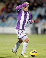 Real Valladolid's Patrick Ebert during La Liga match.November 18,2012. (ALTERPHOTOS/Acero)