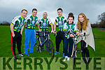 Launching the St Kieran's GAA cycle at the Castleisland Desmonds GAA pitch on Saturday were l-r Thomas Hickey, Maurice Hickey, Barry Lynch, Padraig Reidy, Abbey Brosnan and Amy Reidy.  The cycle will be held on Sunday May 22nd. starting at 10am sharp