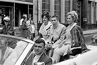 Parade pour l'inauguration de CJRP le 15 juin 1969<br /> <br /> - Gilles Latulippe<br /> <br /> <br /> Photographe : Photo Moderne - AGENCE QUEBEC PRESSE