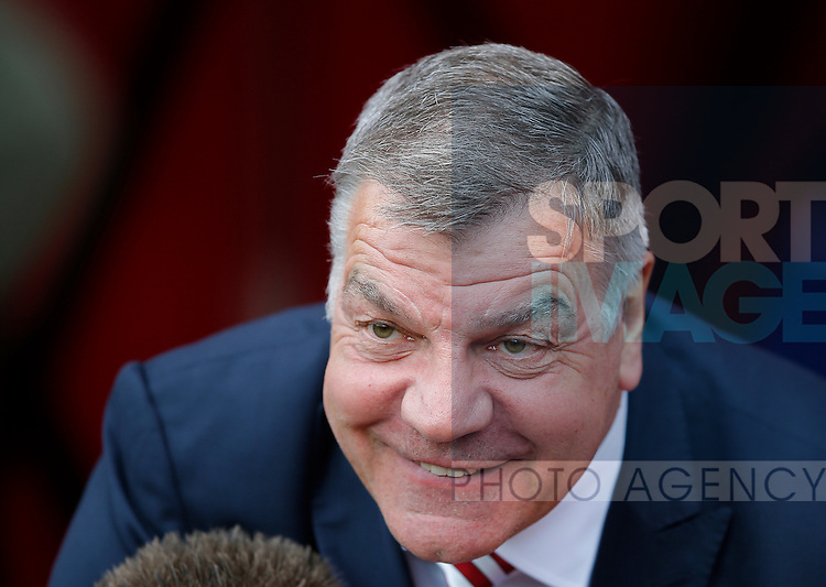 Sam Allardyce manager of Sunderland during the Barclays Premier League match at the Stadium of Light, Sunderland. Photo credit should read: Simon Bellis/Sportimage