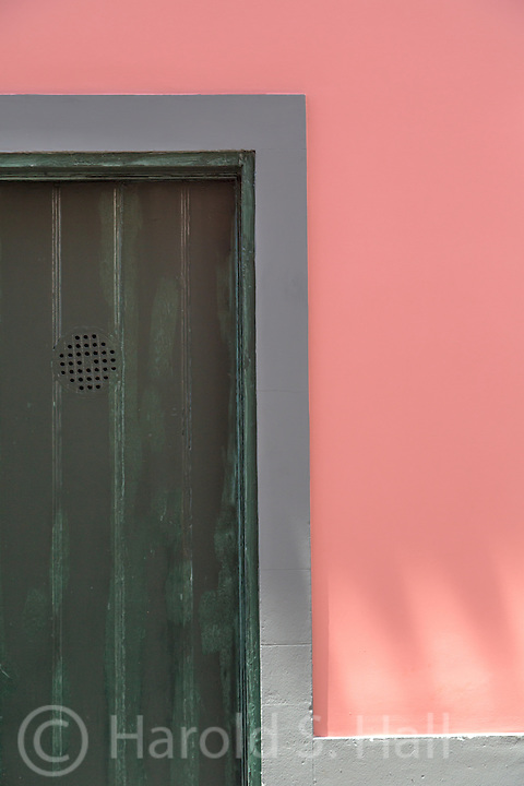 A doorway in Funchal Maderira Portugal.
