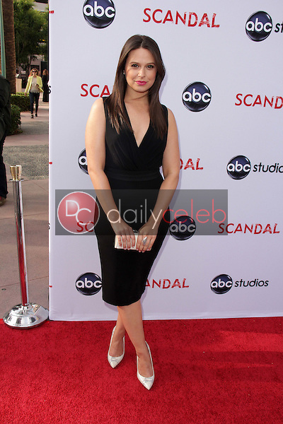 """Katie Lowes<br /> at the """"Scandal"""" ATAS Event and Season Finale Red Carpet, Academy of Television Arts and Sciences, North Hollywood, CA 05-16-13<br /> David Edwards/DailyCeleb.com 818-249-4998"""