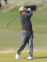 Andy Garcia (AM) on the 7th fairway during Round 3 of the 2015 Alfred Dunhill Links Championship at Kingsbarns in Scotland on 3/10/15.<br /> Picture: Thos Caffrey | Golffile