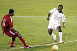 22 January 2006: US forward Freddy Adu (15) earned his first cap against Canada. The United States Men's National Team tied Canada 0-0 at Torero Stadium in San Diego, California in an International Friendly soccer match.
