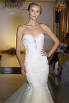 "Model walks runway in a ""Gina"" bridal gown from Maria Farbinni Haute Couture 2018 ""Westbury Collection"", at Panache Bridal New York on October 4th 2017, during New York Bridal Fashion Week Spring 2018."