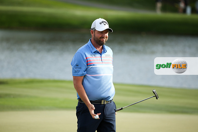 Marc Leishman (AUS) on the 17th during the final round of the Arnold Palmer Invitational presented by Mastercard, Bay Hill, Orlando, Florida, USA. 08/03/2020.<br /> Picture: Golffile | Scott Halleran<br /> <br /> <br /> All photo usage must carry mandatory copyright credit (© Golffile | Scott Halleran)