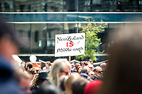 &quot;New Zealand Is Middle Earth&quot;<br /> <br /> Around 1000 supporters attended The Hobbit Rally at Civic Square in Wellington. The rally was in aid of convincing Warner Bros that The Hobbit has the support of the people of New Zealand &amp; further afield, &amp; it should be made here &amp; not go overseas.<br /> <br /> Two days after the rally it was announced by Prime Minister John Key, that talks with Warner Bros were successful &amp; The Hobbit will be filmed in New Zealand.