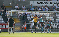 Pictured: Ashley Williams of Swansea City<br /> Coca Cola Championship, Swansea City FC v Burnley at the Liberty Stadium, Swansea. Saturday 20 September 2008.