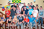 21st Birthday : Stephen Brosnan, Moyvane celebrating his 21st birthday with family & friends at Hanrahan's All Star Bar, Moyvane on Saturday night last.