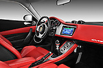 Passenger side dashboard view of a 2009 Lotus Evora 2 Door Coupe