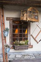 Italie, Val d'Aoste,Courmayeur: Auberge de la Maison, Via Passerin d'Entrèves  // Italy, Aosta Valley, Courmayeur: Auberge de la Maison, Via Passerin d'Entrèves