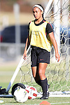 25 October 2012: Jade King. The United States Girl's Under-14 National Team (1988s) held a training camp at WakeMed Soccer Park in Cary, North Carolina.